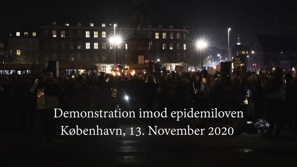 Demonstration Epidemiloven