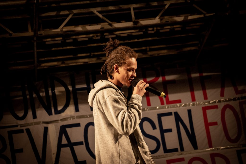 Demonstration Hyldest Til Friheden Bertel Thorvaldsens Plads, København 13. December 2020 Billeder